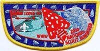 OA NANUK LODGE 355 523 549 GREAT ALASKA 2010 BSA SCOUT JAMBOREE PATCH FLAP 2013