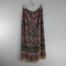 Emma James Women's Skirt Size 12 Multi Color Floral Modest Flowing Lightweight