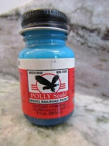 FLOQUIL POLLY SCALE by TESTORS RAILROAD MODEL PAINT 1oz 1 oz - CONRAIL BLUE