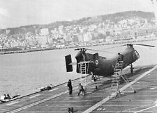 Guerre d'Algérie - Banane de l'Aéronavale sur le Porte-avions La Fayette