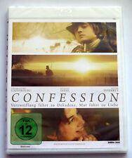 Confession (2012) NEU, Blu-ray, Charlotte Gainsbourg, Pete Doherty, August Diehl