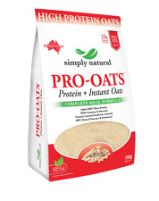 Simply Natural  Protein + Instant Oats Complete  Meal Formula 750g Natural
