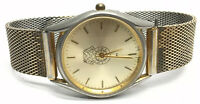 IB of TCW & H of A Gold Tone Men's Wrist Watch 299 Kreisler Band
