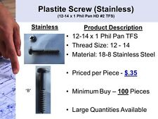 Stainless Steel Plastite Screw (A)