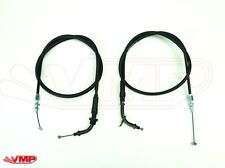 Bobber/Chopper/Custom Motorcycle Throttle Cables Open and Close Pair