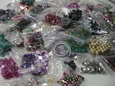 500g of Quality Mixed Beads Findings Craft Glass Acrylic Wood Tibetan Items