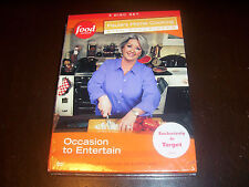 PAULA'S HOME COOKING Paula Deen Occasion to Entertain 3 DVD SET SEALED NEW