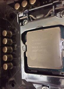 intel core i7-6700k 4 ghz quad-core processor & Motherboard