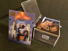 Star Trek MASTER SERIES Complete Set #1-100 : 1994 Skybox