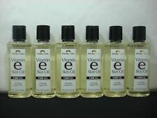 6 Personal Care Vitamin E Skin Oil 1500 I.U. Soften & Moisturize Skin 4 oz