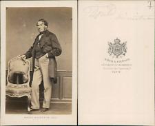 Mayer et Pierson Achille Fould CDV vintage albumen, Achille Marcus Fould (Paris,