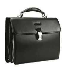 Piquadro Modus Dark Brown briefcase with two gussets CA1152MO/TM2