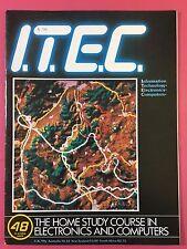 I. T. Decir C 1980's Electrónica & Ordenador Tecnología Revista - Part 48