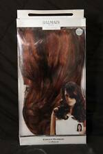 BALMAIN Paris Hair EXTENSIONS New in BAG Caramel RED/BROWN Complete 40cm/16""