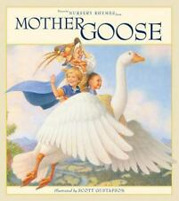 Favorite Nursery Rhymes from Mother Goose by Scott Gustafson (2016, Picture.
