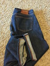 Rare * Jean Shop * New York Jeans NYC Selvedge 36 American Indigo Rocker vtg