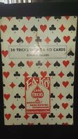 Vintage 36 Tricks with FA-KO Cards Ronald Haines Book