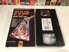 * Para Que Dure No Se Apure Mexican Comedy VHS 1988 Manuel Flaco Ibanez Mexi 80s