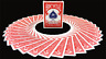 Paris Back Red Bicycle Playing Cards Poker Size Deck USPCC Custom Limited New