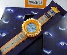 Swatch Wake Up SBZ105 Scuba 1997 Chrono Quarz mit Box ungetragen