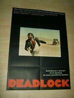 Deadlock-Roland Klick-Mario Adorf Orginal A1 Kinoplakat EA Rar