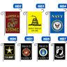 US Navy Garden Flag 11.8x18 Licensed Army Banner The Few The Plsei Mbyss J1K9