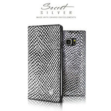 Dreamplus Leather Swarovski Flip Wallet Case Cover for Samsung Galaxy Note/S6/S7