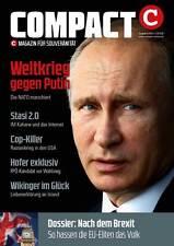 COMPACT MAGAZIN 08/2016 WELTKRIEG GEGEN PUTIN/HOFER/STASI 2.0/COP KILLER/BREXIT