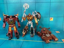 Transformers Generations Deluxe WARPATH w/ Instructions Rekgar- Hot Rod Lot.