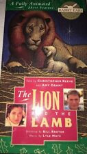 The Lion & The Lamb Animated Christopher Reeve Amy Grant 1994 VHS-TESTED-RARE