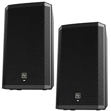EV ELECTRO VOICE ZLX12P Active 2-way PA Speakers PAIR