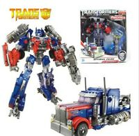 "Transformers 3 Dark of the Moon Voyager Optimus Prime 6"" Toy Figure New"