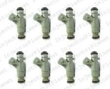 Set of 8 Bosch Fuel Injector 98-00 Mercedes CL500 5.0L V8 0280155744 A1130780049