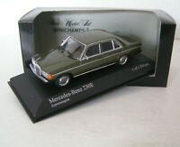 Mercedes-Benz W 123 Limousine 230 E - dark green metallic - Minichamps 1:43 !