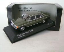 Mercedes-Benz W 123 Limousine 230 E - dark green metallic - Minichamps 1:43 !