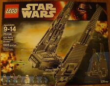 LEGO Star Wars Kylo Ren's Command Shuttle 75104 NEW