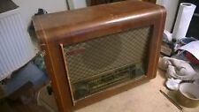 Vintage Looking Radio PYE Cambridge England Spares or Repair