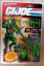 "GI Joe FIREFLY ""COBRA SABOTEUR"" 3.75"" Action Figure MOC Hasbro 1991"