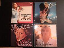 LOTE 4 VINILOS LP'S ROD STEWARD RECORDS LOT