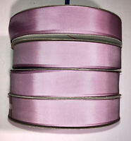 "100 YDS MAUVE TAFFETA RIBBON 1  1/16""  RAYON, by Schiff NEW! Crafts USA   NICE!"