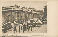 Vintage Postcard UK - London - The Bank of England - Woodbury Series No. 524