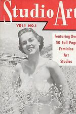 Pocket Magazine--Studio Art 1950's #-1 -----69