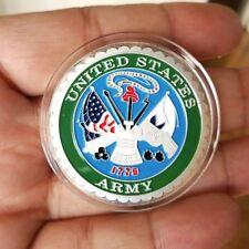 1 oz .999 Fine Silver Round Bar Bullion Coin / U.S Army SB1K2 Military