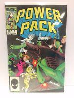 Power Pack #4 Comic Book Marvel 1984
