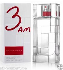 MEN Sean John 3AM Cologne Men Eau De Toilette Spray 3.4/3.3 oz New Sealed