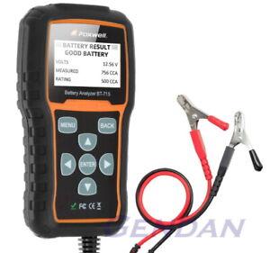 Foxwell BT715 12 Volt Car Battery Analyser Tester - Genuine Foxwell UK Product