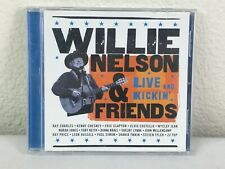 Willie Nelson & Friends - CD- Live and Kickin' - 15 Tracks - Clapton, Toby Keith