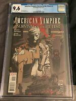 American Vampire Survival of the Fittest #5-CGC 9.6-Scott Snyder-Sean Murphy