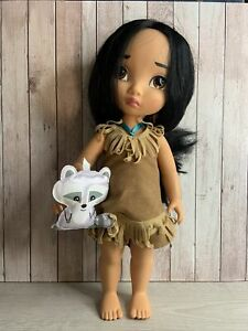 Disney Store Disney Animators 15 inch Pocahontas Doll Excellent Condition