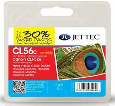 JetTec CLI-526 Cyan Compatible Ink Cartridge for Canon - CL56C